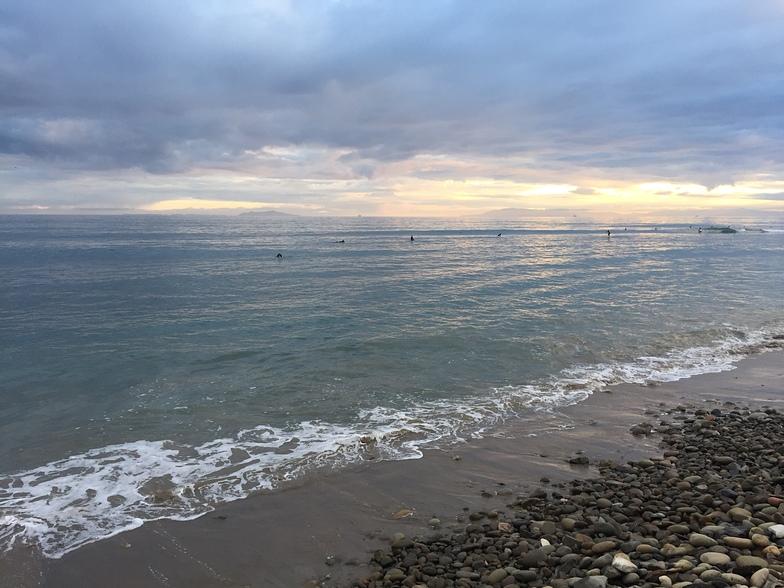 October Sunset, Ventura Point