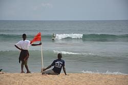 Small swell at Kendeja, Kendeja Resort photo