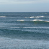 Pouawa - north wind, small south swell, Pouawa Beach