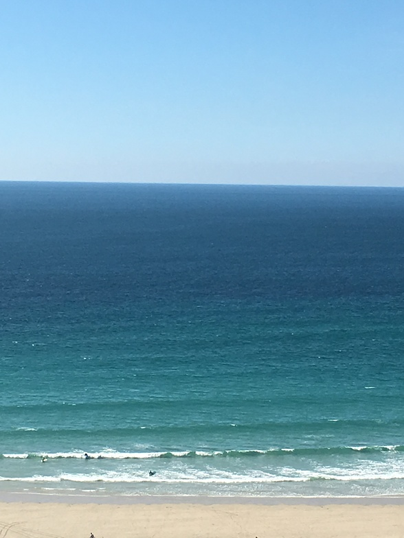 View from top hill, Sennen Cove