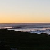 Vale break at dusk, Ogmore-by-Sea