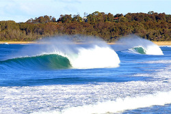 Australia NSW South coast Predo South, Moruya Rivermouth photo