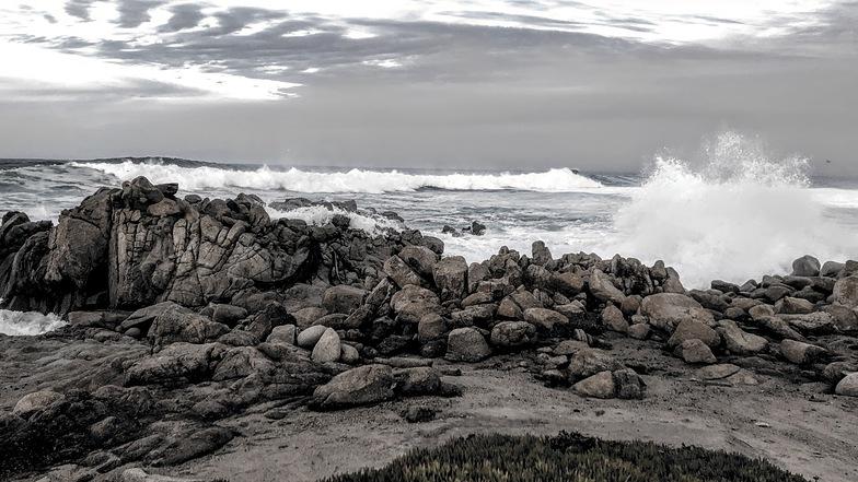 Big waves, Asilomar