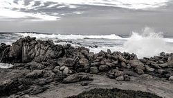Big waves, Asilomar photo