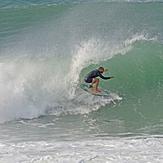 Kalani Lattanzi at Nazare, Praia do Norte