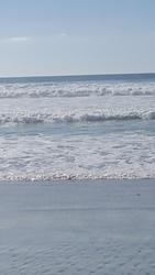 Surf at stone steps beach, encinitas, ca photo