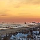Sunset at the pier, Ventnor Pier