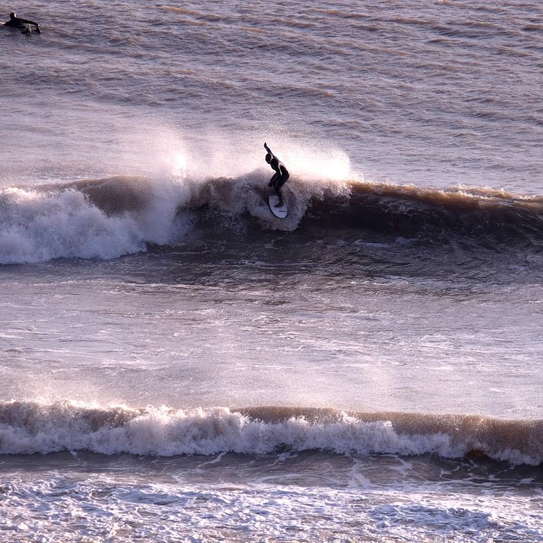 Fall Bay winter fun waves
