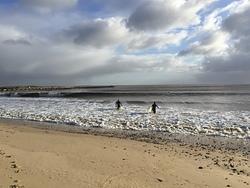 Northerly Swell Wraps Into Walberswick photo