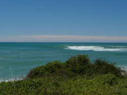 Two reefs East of The Spit, towards Boat Harbour, Mahia Spit photo