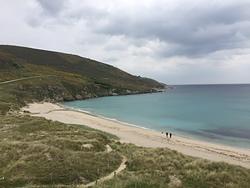 Calm before the storm, Playa de Seaia photo
