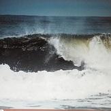 Hurricane swell, Pensacola beach
