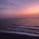 Sunset praia pequena