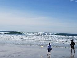 Summer in Winter, Carmel Beach photo