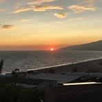 Summer sunset, Zuma Beach