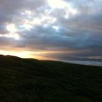 January sunrise, Sandy Point