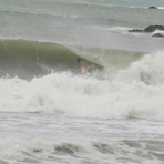 Unknown getting slotted, Sandy Bay (Northland)
