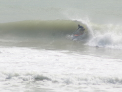 Paul charging, Sandy Bay (Northland) photo