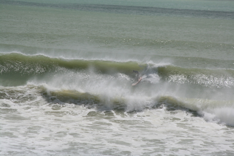 Sean charging it, Sandy Bay