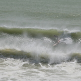 Sean charging it, Sandy Bay (Northland)