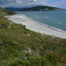 Beach at Entrance to Whanganui Inlet