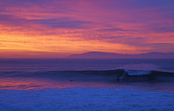 MIddle Peak Sunrise, Steamer Lane-Middle Peak photo
