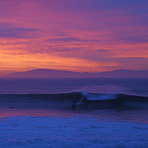 MIddle Peak Sunrise, Steamer Lane-Middle Peak