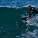 Surfing in Winkipop, Victoria Bay