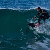 Surfing in Winkipop, Victoria Bay
