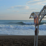 Right side of Lara Beach, Antalya (Lara Beach)