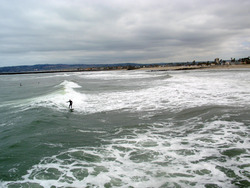OB Surfers, Ocean Beach Pier photo