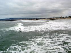 OB Surfers, Ocean Beach Pier photo