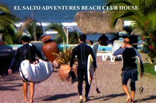 Surfing at El Salto Adventures at Celestino