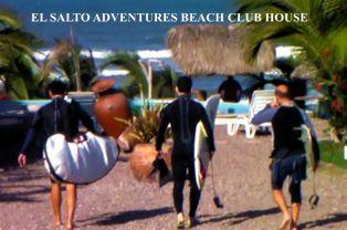 Surfing at El Salto Adventures at Celestino