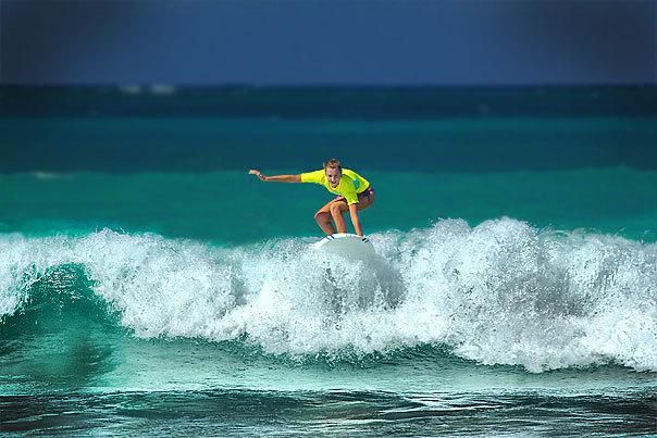 Surf on Macao (Dominican Republic), Playa del Macao