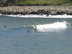 Melvich Bay - Small swell photo