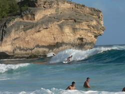 Nice left, Shipwrecks - Hyatt Beach photo