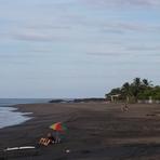 El Transito beach scene