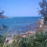 View from Malabar Beach Cafe
