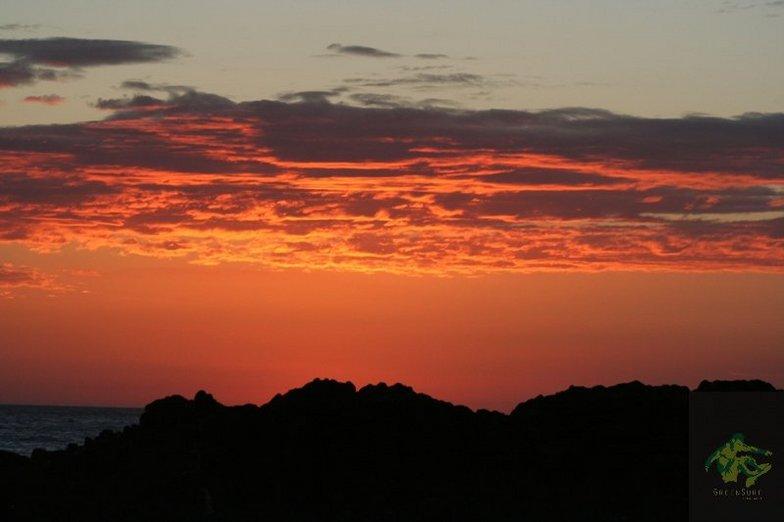 Transito sunset, El Transito