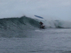 Awesome surf session, Puaena Point photo