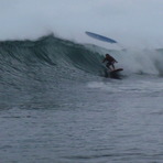Awesome surf session, Puaena Point