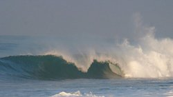 Glassy barrels, Monterrico photo