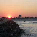 Ponce Inlet Sundown by Randy Garrett