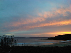 Sunset, Playa de Montalbo photo