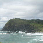 pebbble beach and headland, Crescent Head