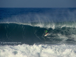 marcelo trekinho in a big barrel!, Canto do Leblon photo