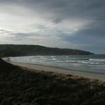 Looking to the SE, Allans Beach