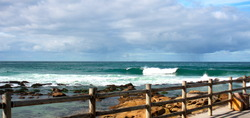 Sets roll in, Bronte Beach photo