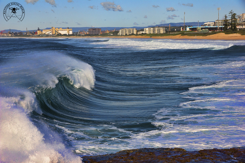 Big south beach Wollongong NSW, Wollongong South Beach